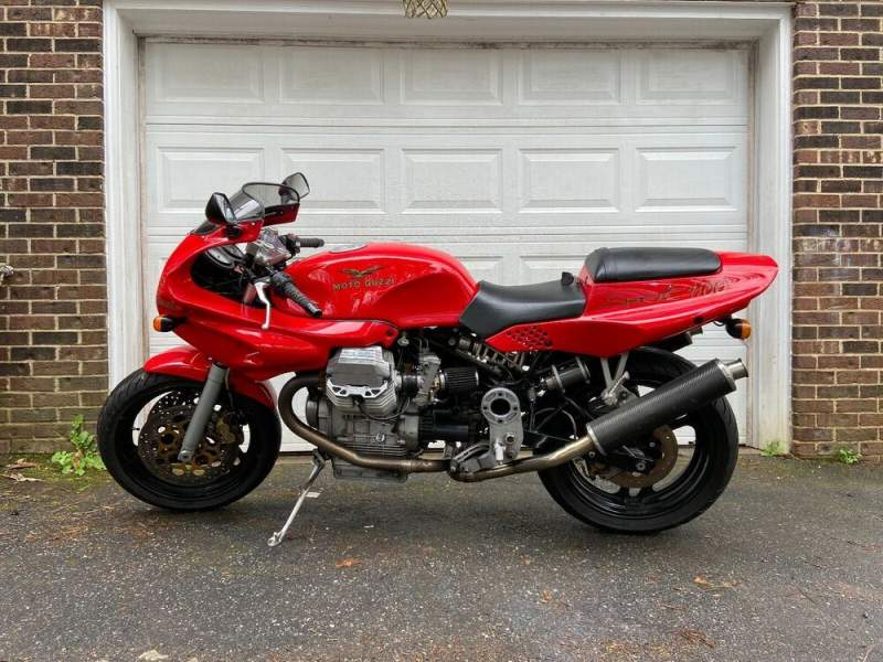 1996 Moto Guzzi 1100 sport Red used for sale