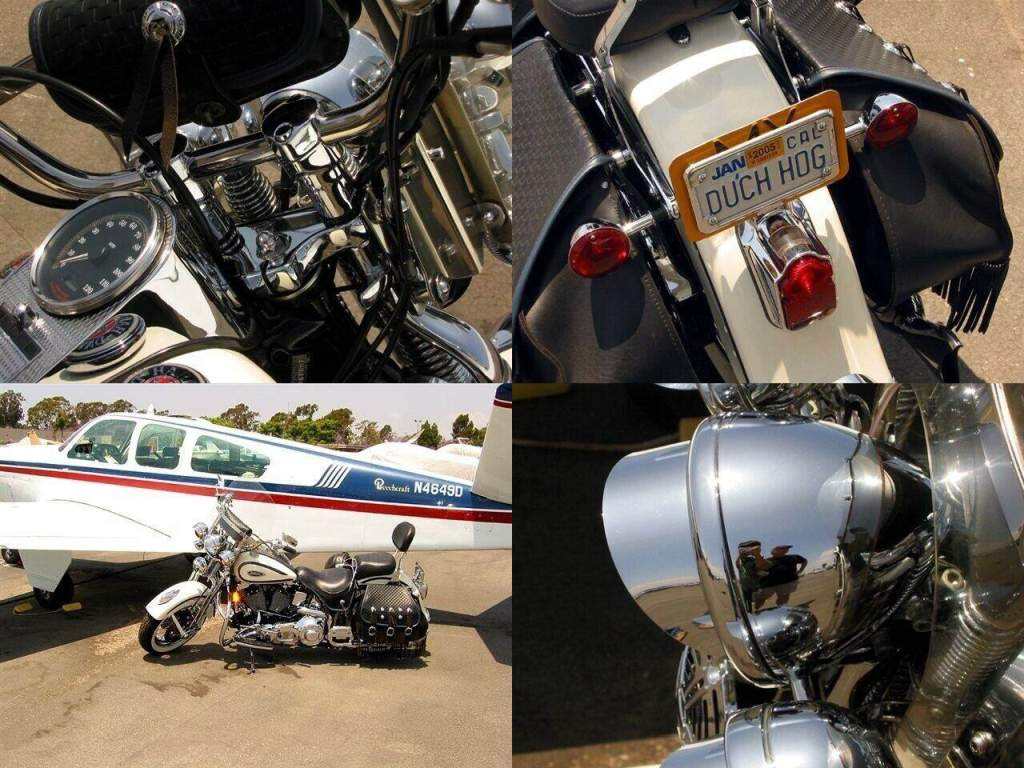 1997 Harley-Davidson Street White used for sale craigslist