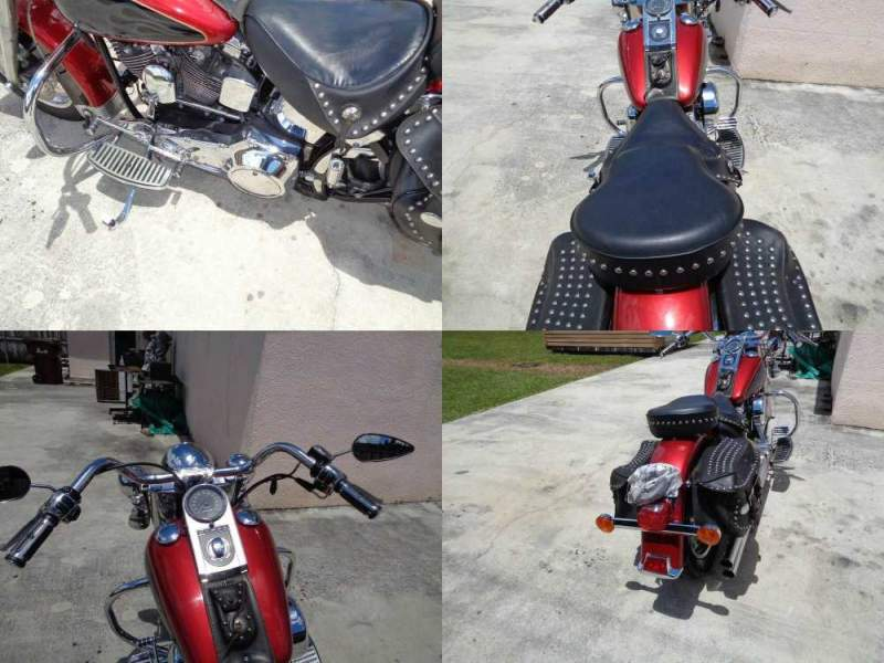 1998 Harley-Davidson Softail Red used for sale