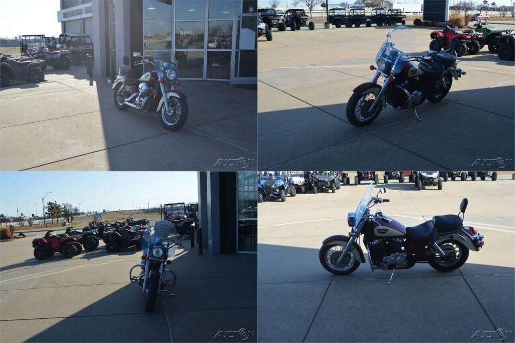 1998 Honda 750 SHADOW AM CLC ED Red used for sale