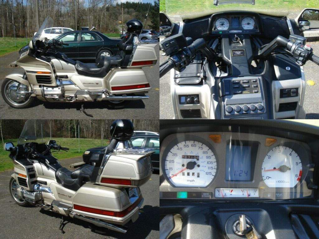 1998 Honda Gold Wing Champagne used for sale