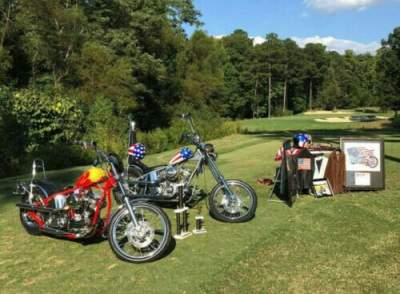 1999 Custom Built Motorcycles Chopper Red used for sale craigslist