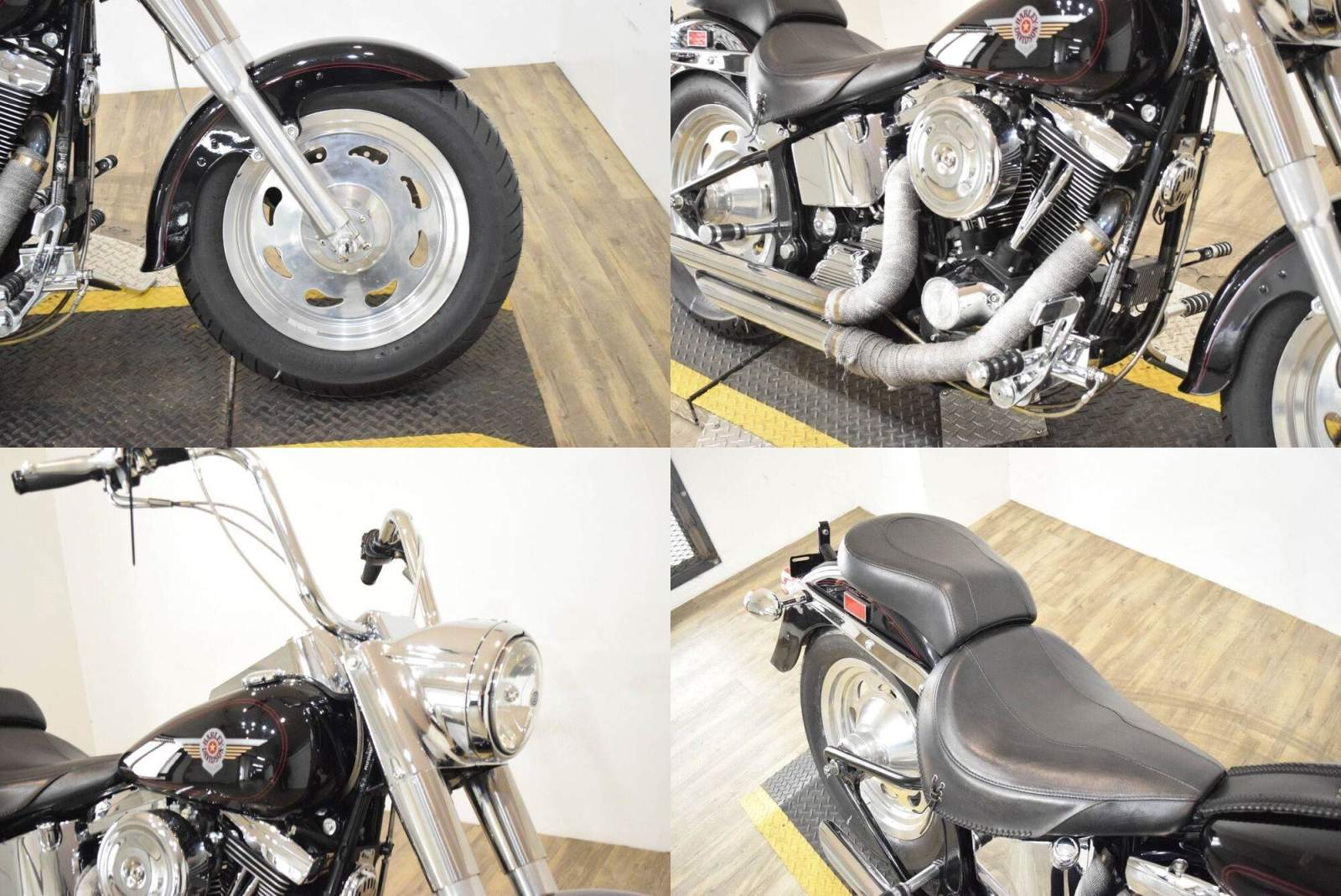 1999 Harley-Davidson FLSTF Fat Boy® Black used for sale craigslist