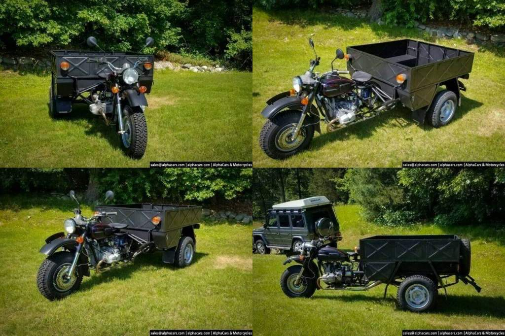 2000 Ural Workhorse Hercules (Ural IMZ 8.4013) Black used for sale