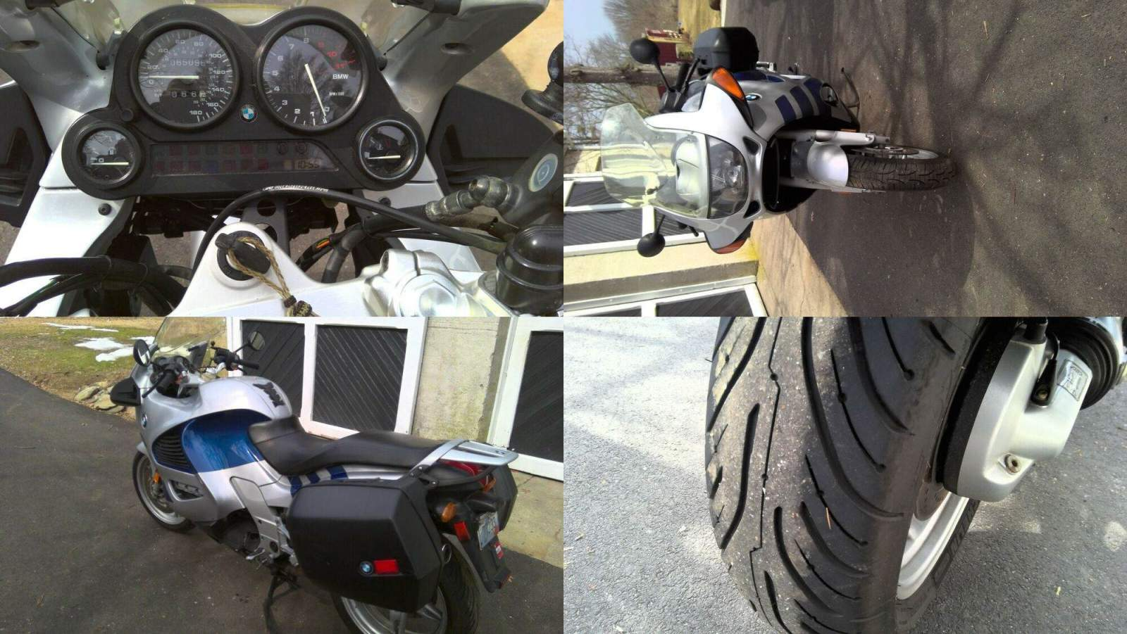 2001 BMW K-Series Blue used for sale