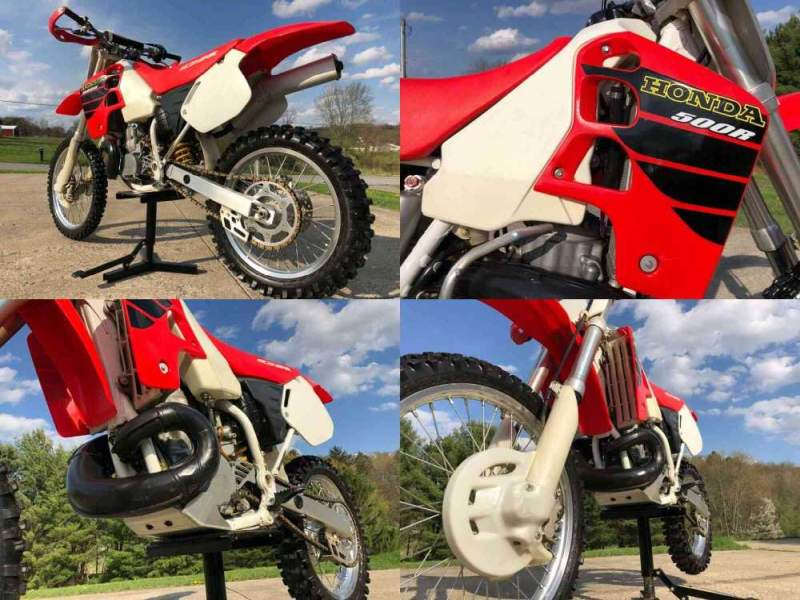 2001 Honda CR Red used for sale craigslist