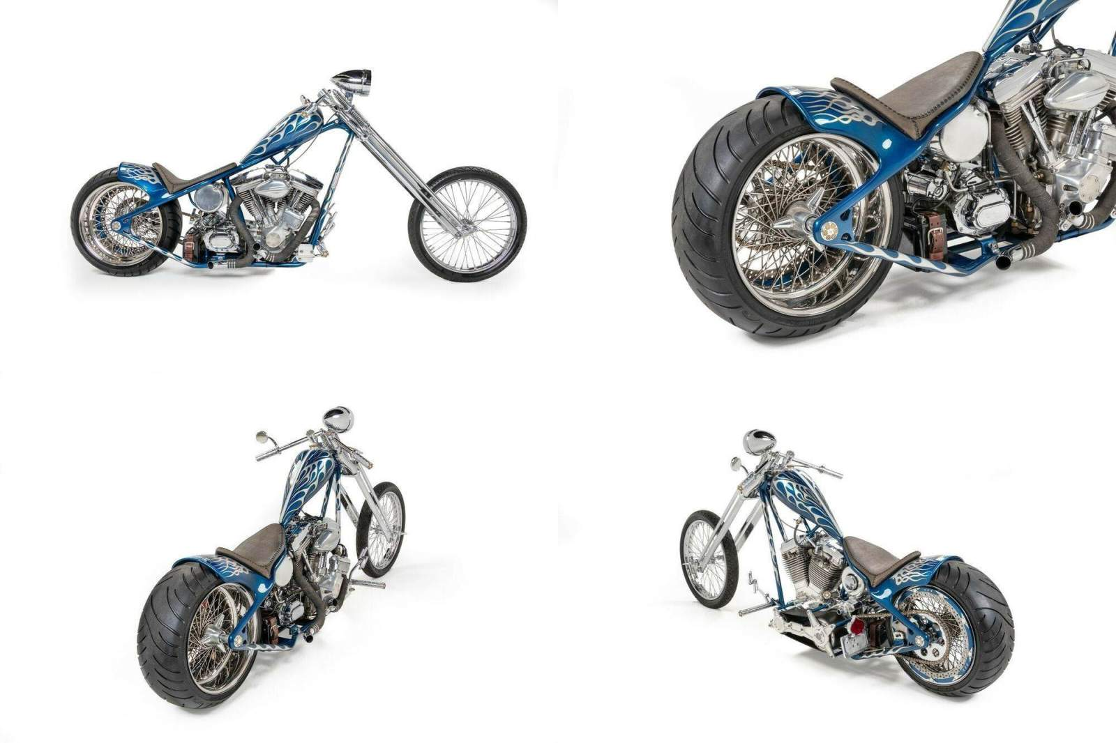 2002 Custom Built Motorcycles Chopper  used for sale