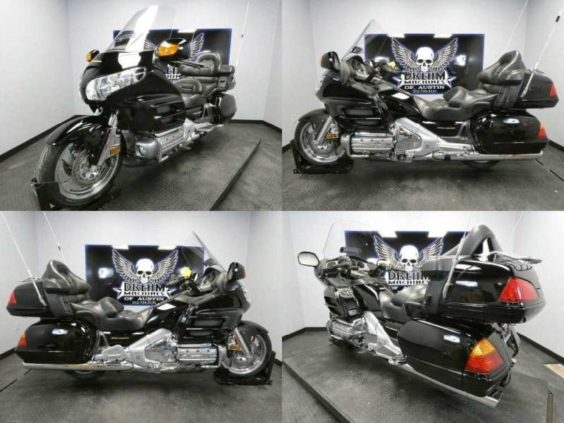2002 Honda Gold Wing ABS GL18002 -- used for sale craigslist