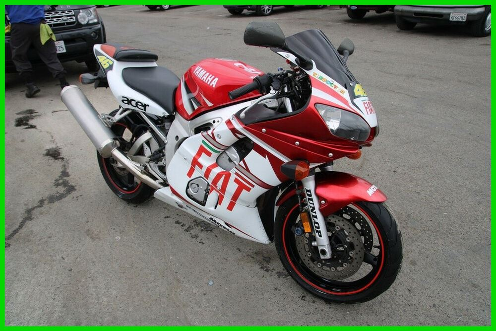 2002 Yamaha YZF-R 6 White and Red used for sale