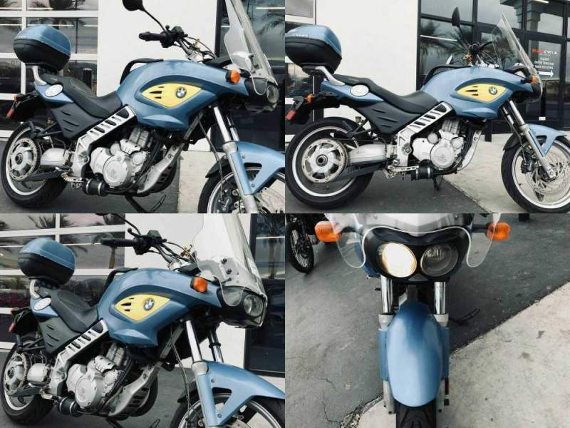 2003 BMW F 650 CS Blue used for sale