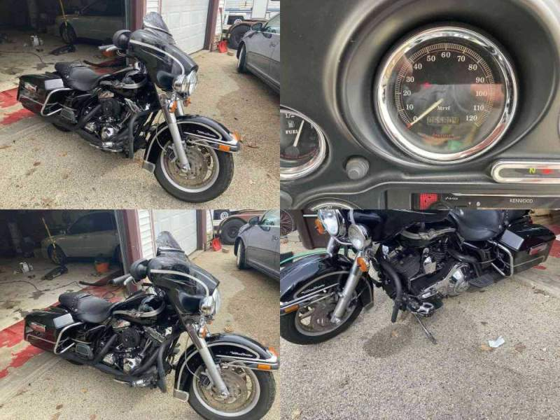 2003 Harley-Davidson Electra Glide Ultra Classic Anniversary Black used for sale