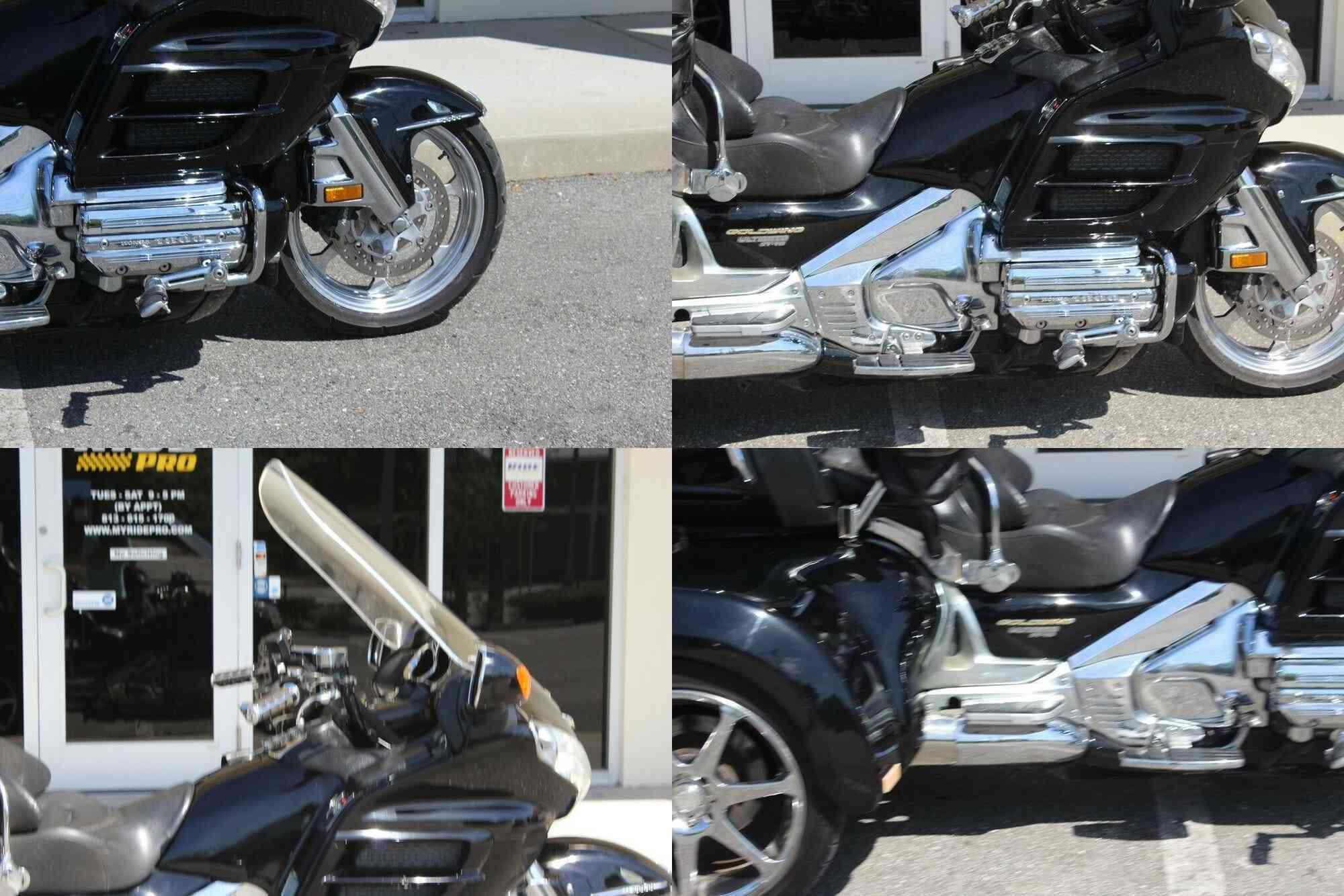2003 Honda Gold Wing Roadsmith Trike Independent Rear Suspension Black used for sale