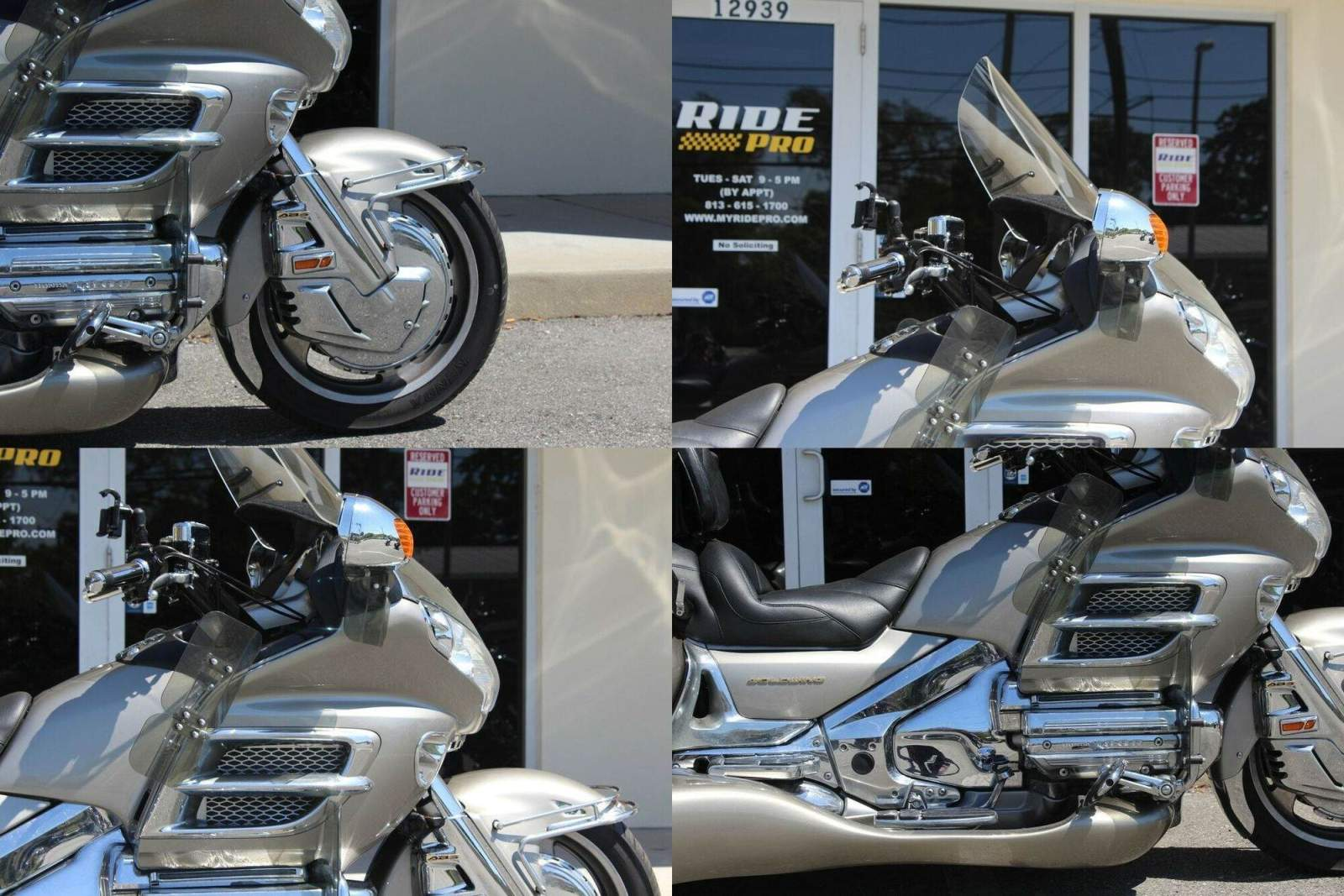 2003 Honda Gold Wing ABS Silver used for sale craigslist