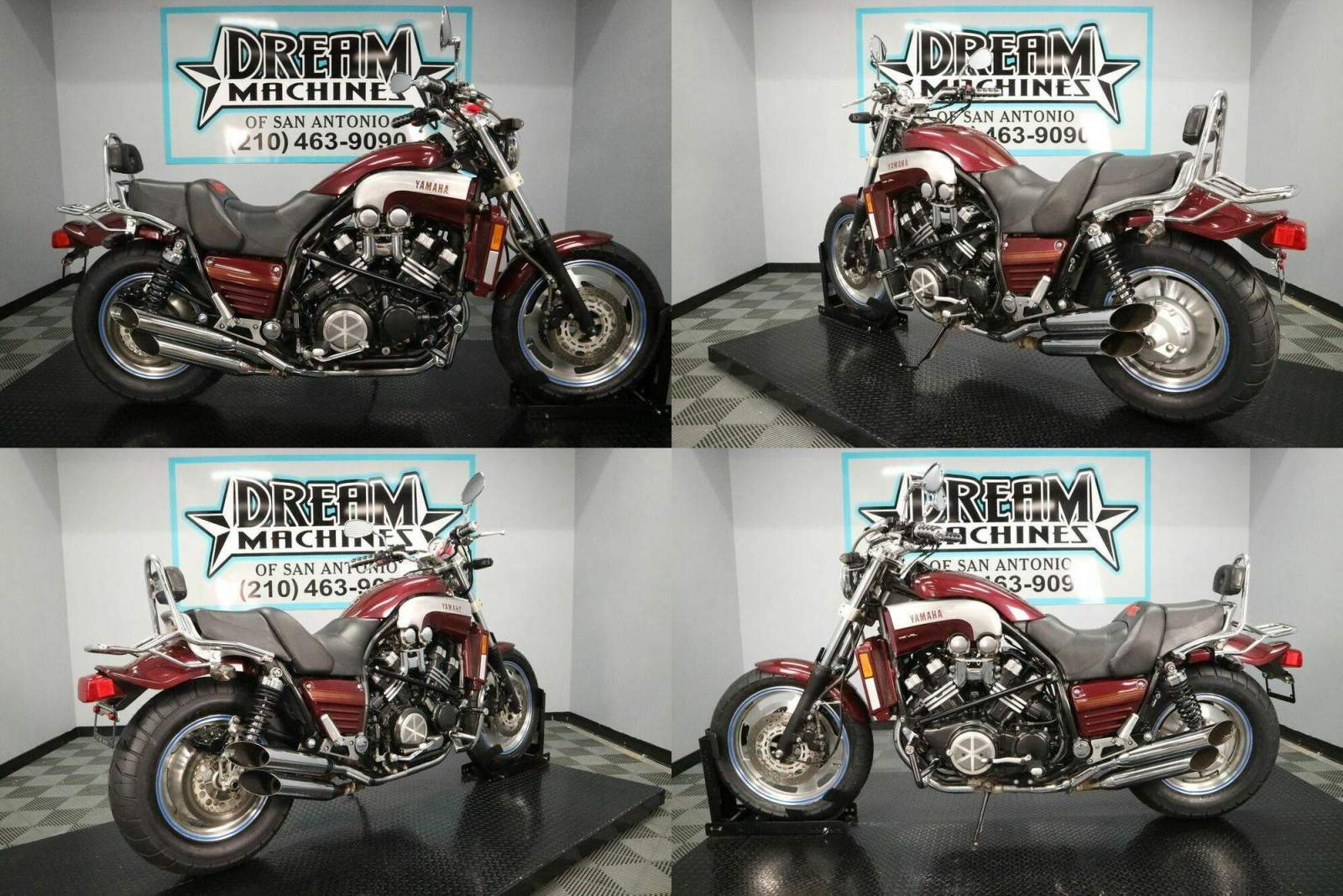 2003 Yamaha VMAX 1200 VMX12 Red used for sale craigslist