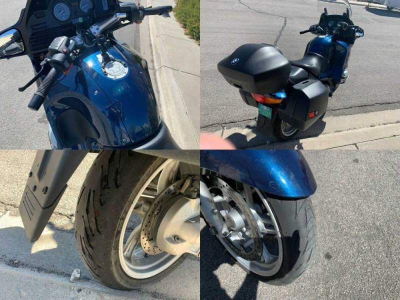 2004 BMW R1150 RT Blue used for sale