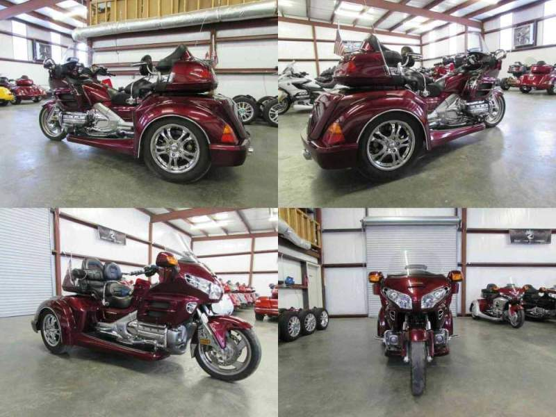 2004 Honda Gold Wing BLACKCHERRY used for sale