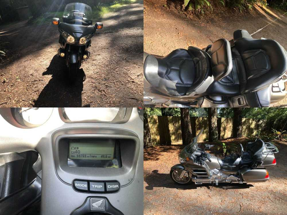 2004 Honda Gold Wing Gray used for sale craigslist