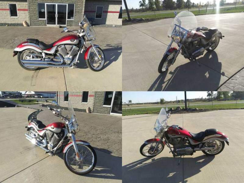 2004 Victory VEGAS Red used for sale craigslist