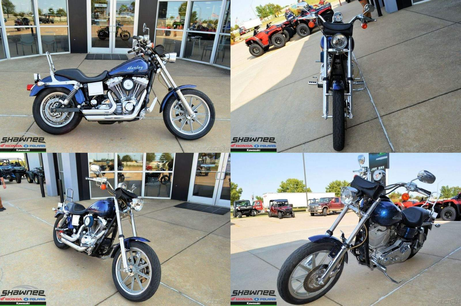 2005 Harley-Davidson Dyna Super Glide Custom Blue used for sale craigslist