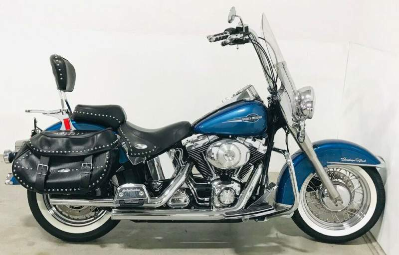 2005 Harley-Davidson Softail Blue used for sale craigslist