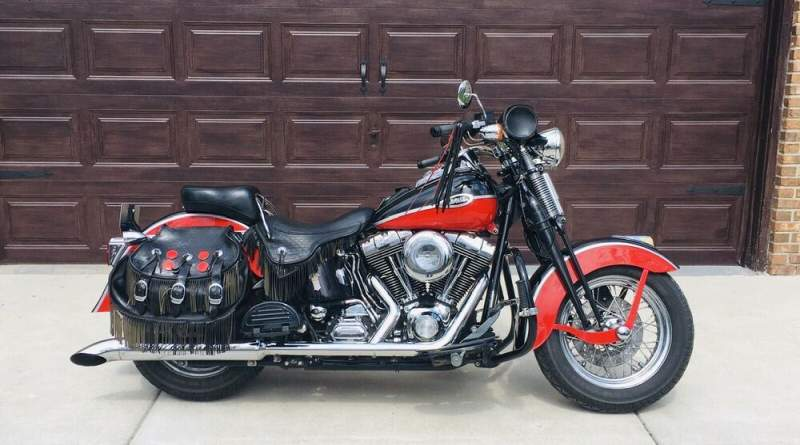 2005 Harley-Davidson Softail Springer Red used for sale craigslist