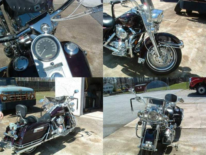 2005 Harley-Davidson Touring Black Cherry used for sale craigslist