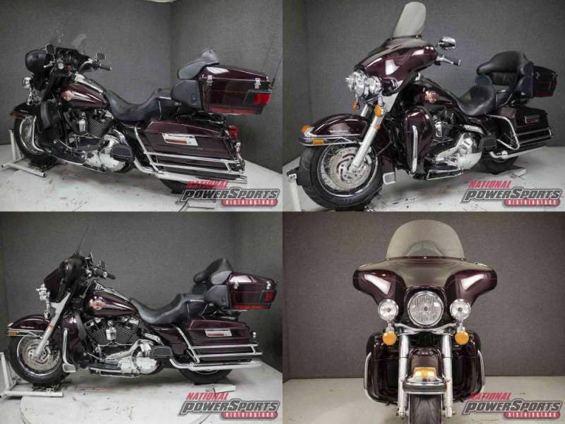 2005 Harley-Davidson Touring BLACK CHERRY used for sale