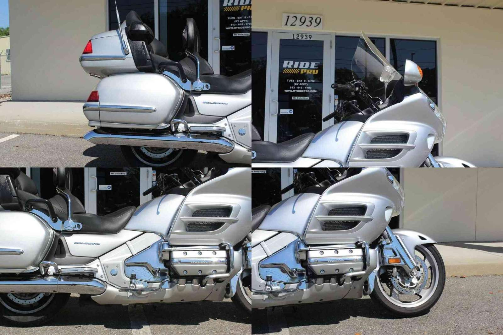 2005 Honda Gold Wing Silver used for sale craigslist