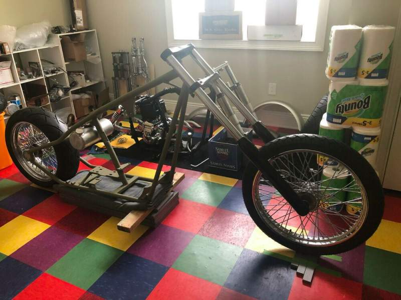 2006 Custom Built Motorcycles Chopper  used for sale craigslist