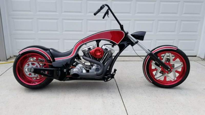 2006 Custom Built Motorcycles Chopper Black used for sale craigslist