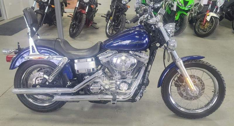 2006 Harley-Davidson Dyna™ Super Glide® Custom Deep Cobalt used for sale craigslist