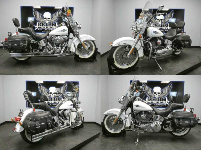 2006 Harley-Davidson FLSTC - Softail Heritage Classic White used for sale