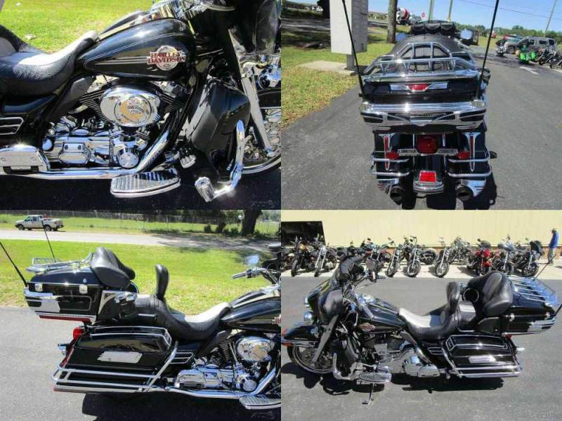 2006 Harley-Davidson Touring Electra Glide® Ultra Classic® Black used for sale