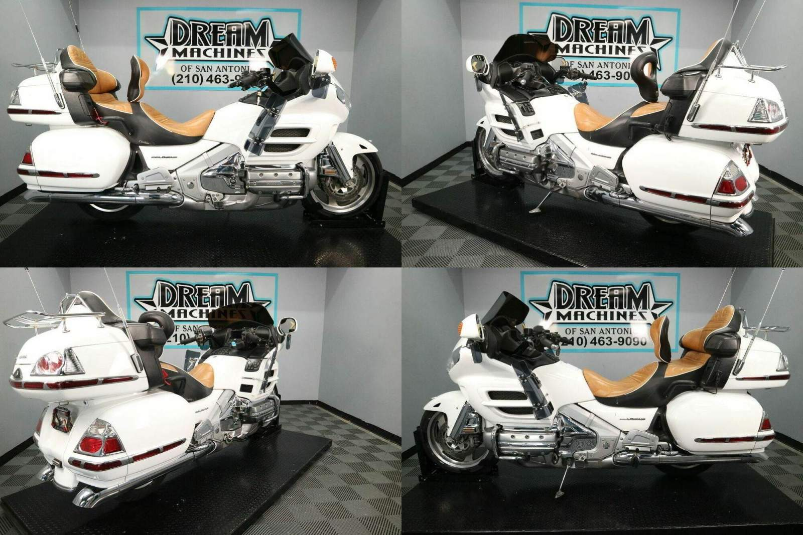 2006 Honda Gold Wing Audio Comfort Navi White used for sale
