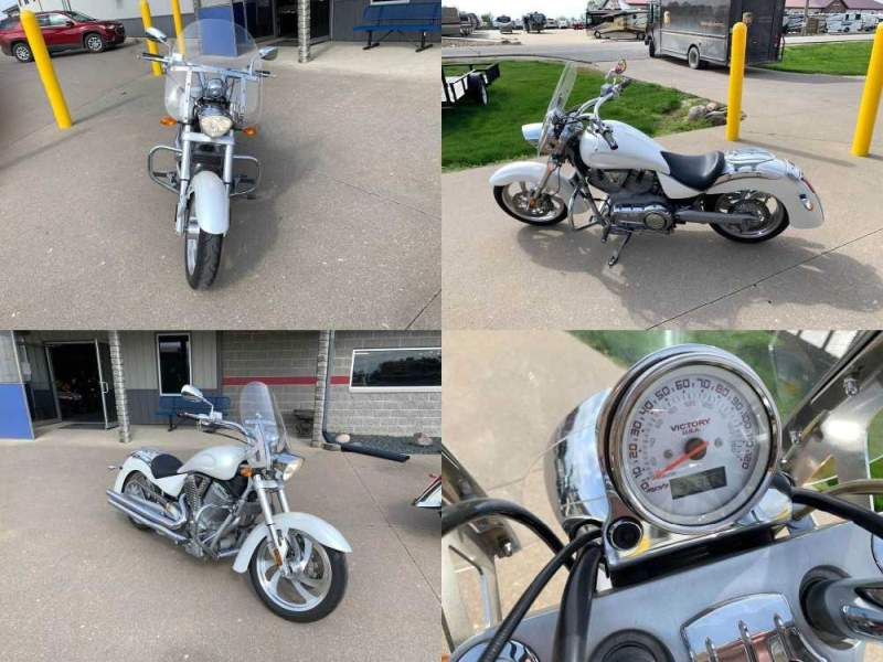 2006 Victory KINGPIN White used for sale craigslist