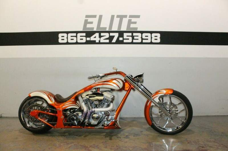 2007 Custom Built Motorcycles Pro Street Orange used for sale craigslist