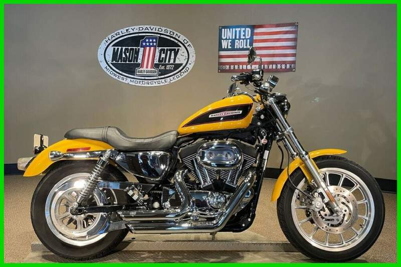 2007 Harley-Davidson Sportster 1200 Roadster Yellow Pearl used for sale craigslist