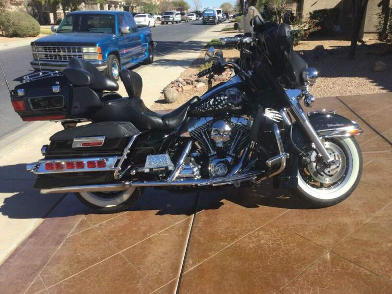 2007 Harley-Davidson Touring Custom Paint used for sale