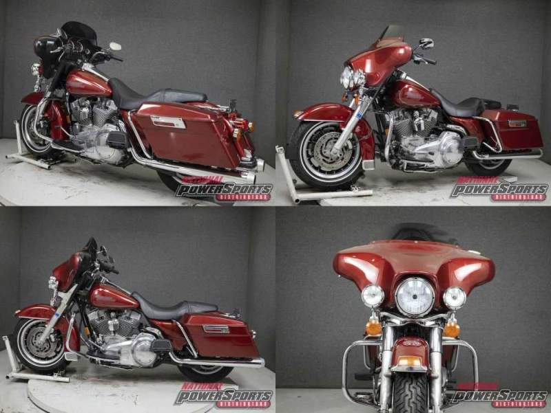 2007 Harley-Davidson Touring FIRE RED PEARL used for sale craigslist