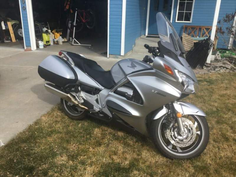 2007 Honda ST1300 Silver used for sale