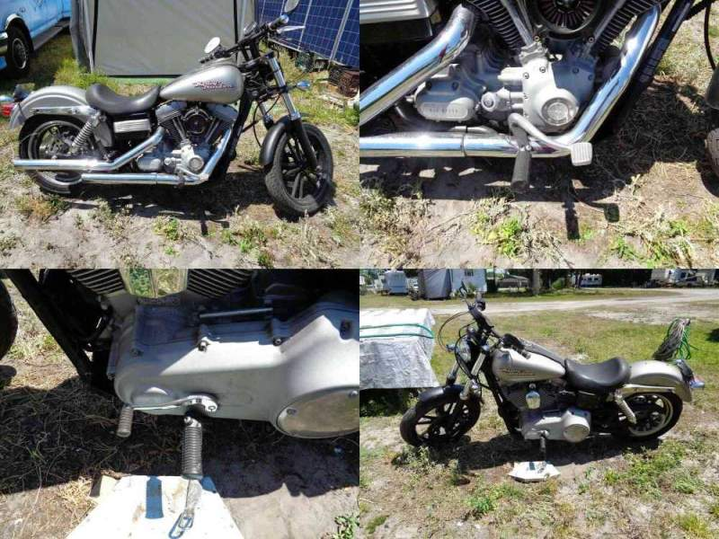 2007 Other Makes Dyna Superglide Silver used for sale