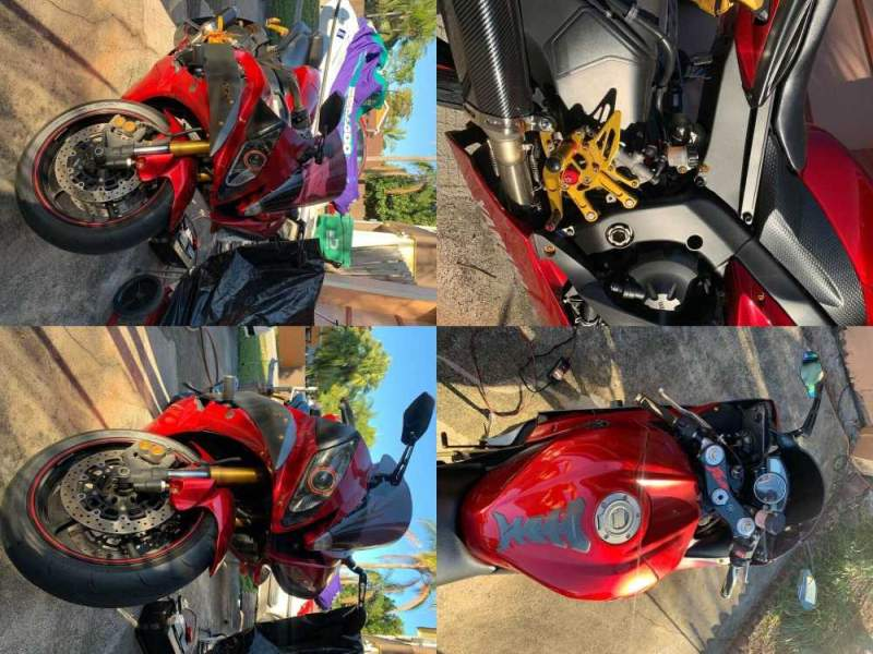 2007 Yamaha R6 Red used for sale
