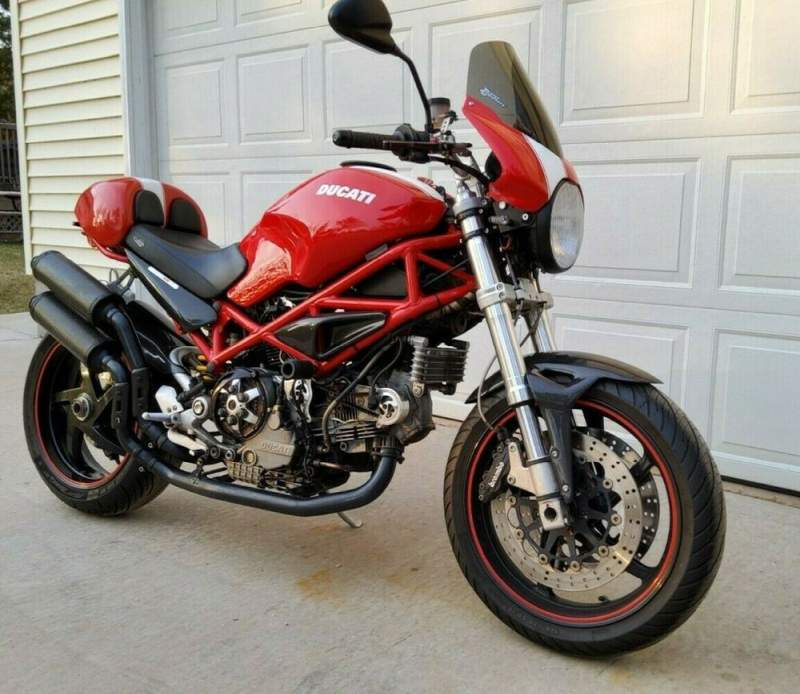 2008 Ducati Monster Red used for sale craigslist
