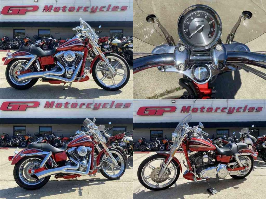2008 Harley-Davidson DYNA CVO DYNA CVO SCREAMING EAGLE Red used for sale