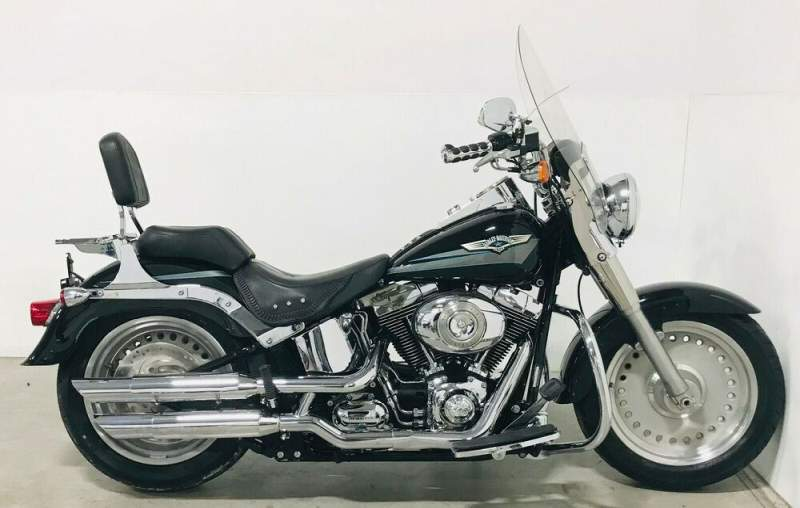 2008 Harley-Davidson Softail Black used for sale craigslist