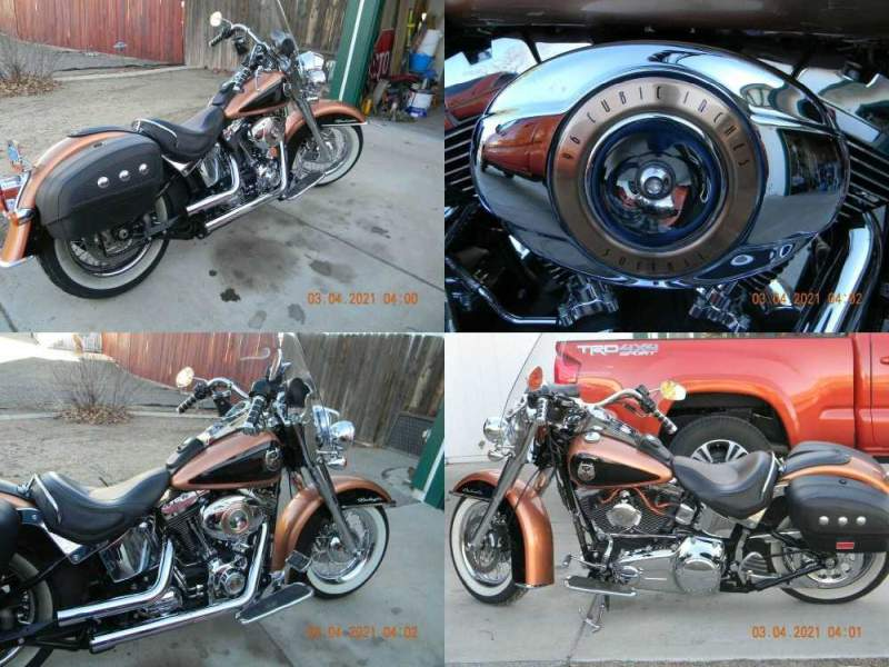 2008 Harley-Davidson Softail Copper/Black used for sale craigslist