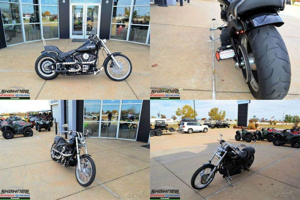 2008 Harley-Davidson Softail Night Train Black used for sale craigslist