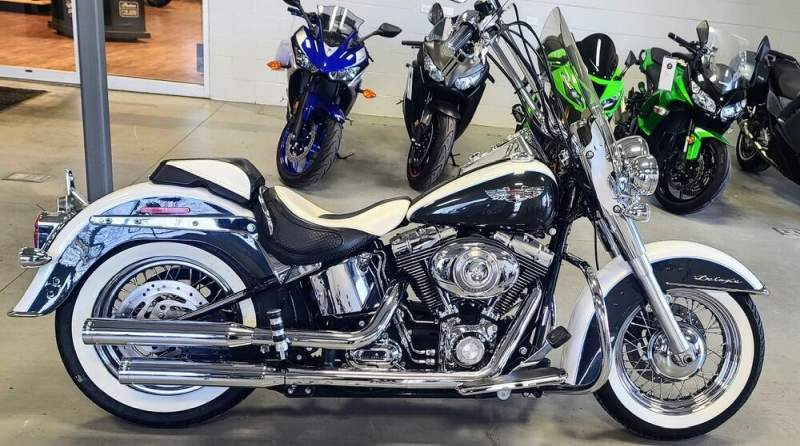 2008 Harley Davidson Softail Deluxe   for sale craigslist