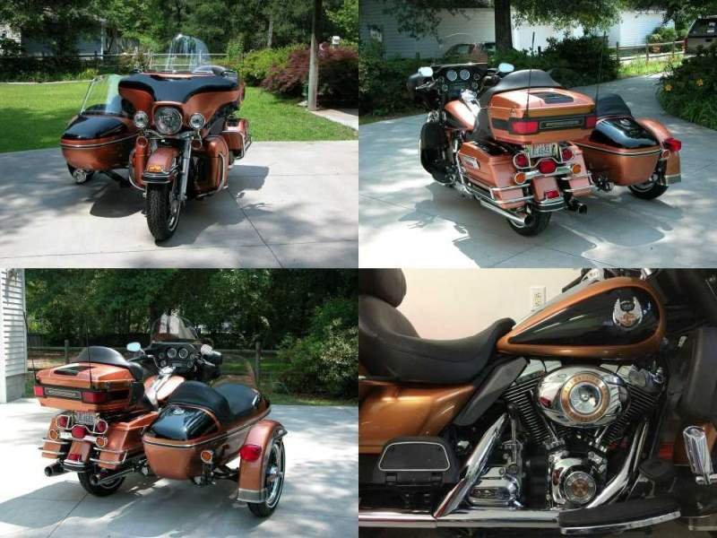 2008 Harley-Davidson Touring Anniversary Copper Pearl/Black used for sale craigslist