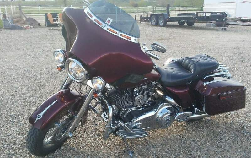 2008 Harley-Davidson Touring Red used for sale